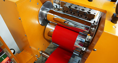 Finke Colors machine for flat-film extrusion